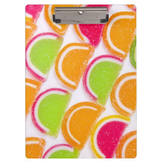 Colorful Different Jelly Candy Clipboard