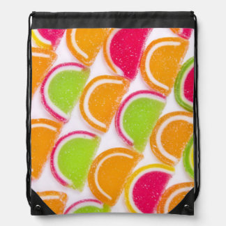 Colorful Different Jelly Candy Drawstring Bag