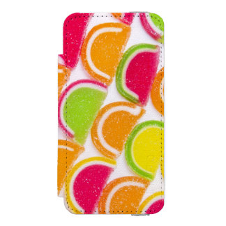 Colorful Different Jelly Candy Incipio Watson™ iPhone 5 Wallet Case