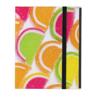 Colorful Different Jelly Candy iPad Case