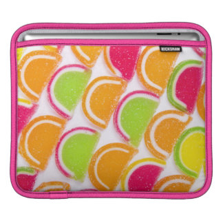 Colorful Different Jelly Candy iPad Sleeve