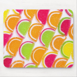 Colorful Different Jelly Candy Mouse Mat