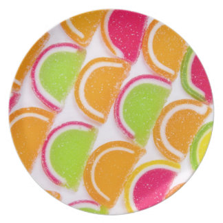 Colorful Different Jelly Candy Plate