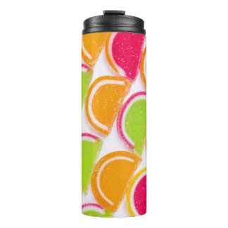 Colorful Different Jelly Candy Thermal Tumbler