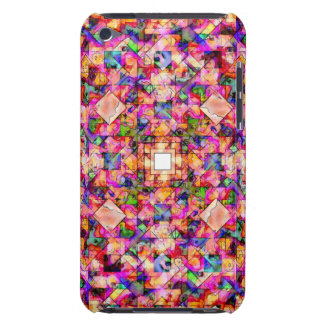 Colorful Digital Abstract Barely There iPod Covers