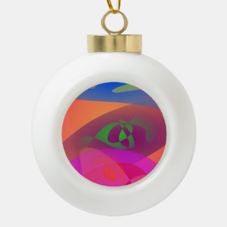 Colorful Digital Abstract Ornaments