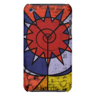 Colorful Digital Graffiti - Tribal Urban Style Barely There iPod Case