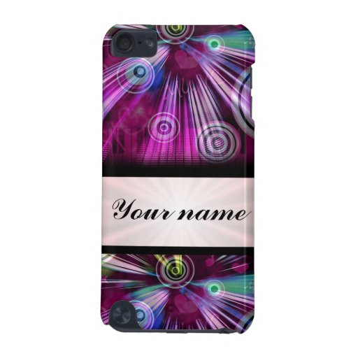 Colorful digital pattern iPod touch (5th generation) case