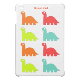 Colorful Dinosaur iPad Mini Case