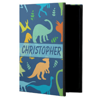 Colorful Dinosaur Pattern to Personalize Powis iPad Air 2 Case