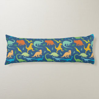 Colorful Dinosaurs Body Cushion