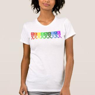 Colorful Diversity Symbol T-Shirt