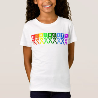 Colorful Diversity Symbol T-Shirt