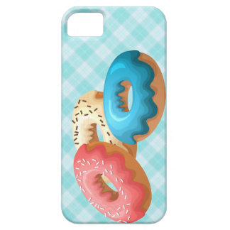 Colorful donuts case