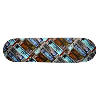 Colorful Doors Collage Custom Skateboard