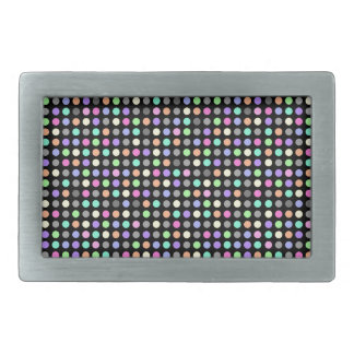 COLORFUL DOTS Belt Buckle