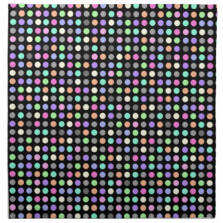 COLORFUL DOTS Cloth Napkins