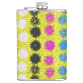Colorful Dots Hip Flask