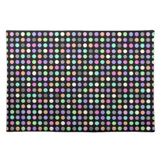 COLORFUL DOTS Placemats