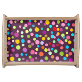 Colorful Dots Serving Tray