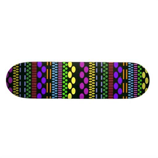Colorful Dots Skateboards