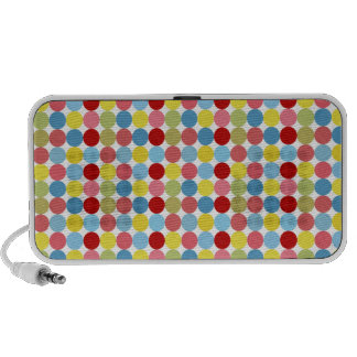 Colorful Dots iPhone Speakers