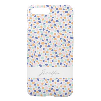 Colorful Dots With Name Case