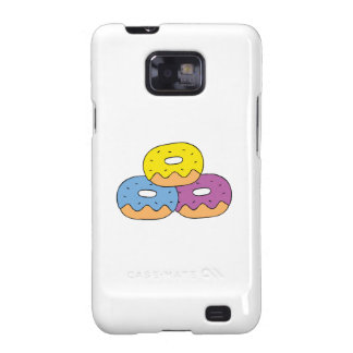 Colorful Doughnuts Samsung Galaxy S2 Cover
