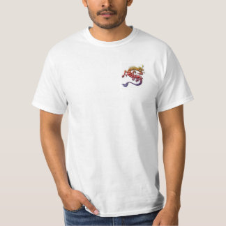 colorful dragon mens shirt