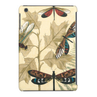 Colorful Dragonflies Floating Above Leaves iPad Mini Retina Case