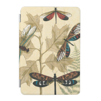 Colorful Dragonflies Floating Above Leaves iPad Mini Cover