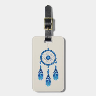 Colorful Dream Catcher Luggage Tag