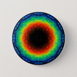 Colorful Dream Mandala 6 Cm Round Badge