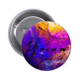 Colorful Dream Vibrant Button/Pin 6 Cm Round Badge