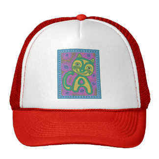 Colorful Dreamland Cat Trucker Hat