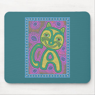 Colorful Dreamland Cat Mouse Pads