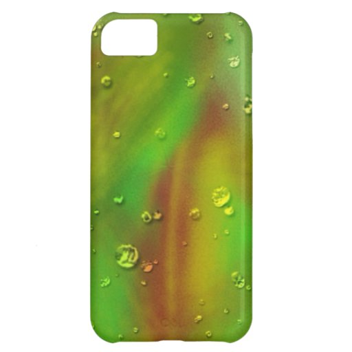 colorful dreams, green, wet iPhone 5C cover