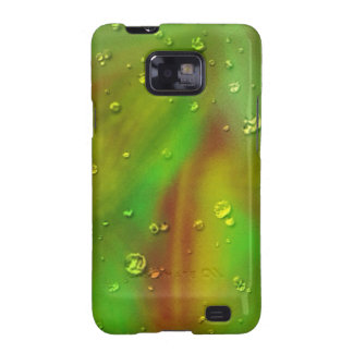 colorful dreams green wet samsung galaxy SII covers