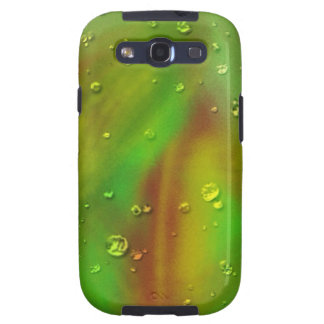 colorful dreams green wet samsung galaxy s3 cases
