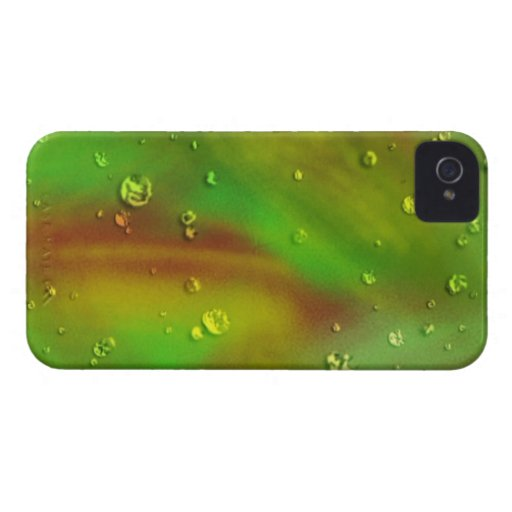 colorful dreams, green, wet iPhone 4 Case-Mate cases