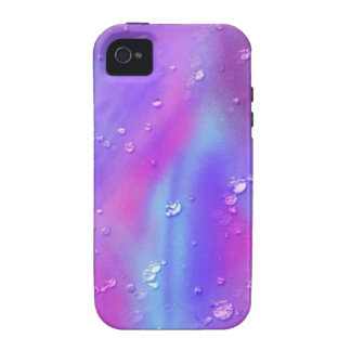colorful dreams, pink, wet vibe iPhone 4 case