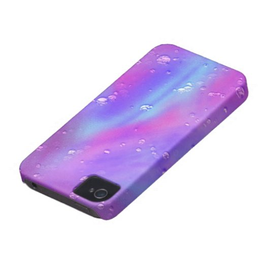 colorful dreams, pink, wet Case-Mate iPhone 4 cases