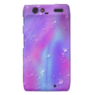colorful dreams pink wet droid RAZR covers