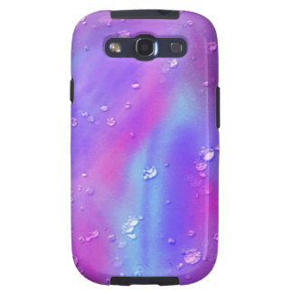 colorful dreams pink wet samsung galaxy SIII cover