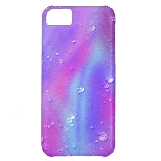 colorful dreams, pink, wet iPhone 5C cases