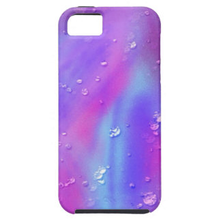 colorful dreams, pink, wet iPhone 5 cover