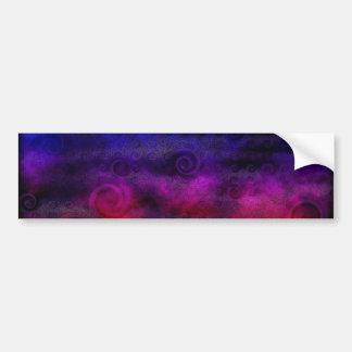 Colorful Dreamy Abstract Bumper Sticker