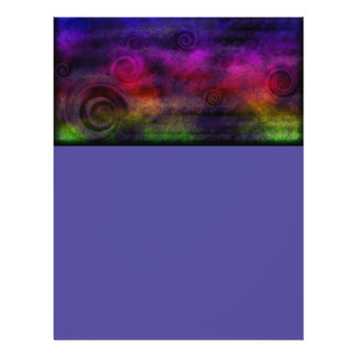 Colorful Dreamy Abstract 21.5 Cm X 28 Cm Flyer