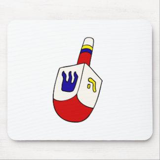 Colorful Dreidel Mouse Pad