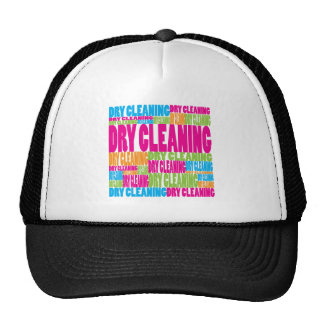 Colorful Dry Cleaning Hats
